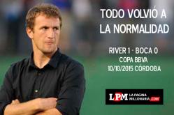 Afiches River 1 - Boca 0 Copa BBVA Córdoba 2015 4
