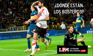 Afiches River 1 - Boca 0 Copa BBVA Córdoba 2015