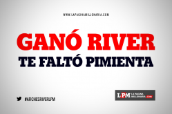 Afiches River 1 - Boca 0 - Mar del Plata 2018 4
