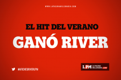 Afiches River 1 - Boca 0 - Mar del Plata 2018 6