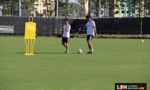 Entrenamiento 17-01 en Orlando