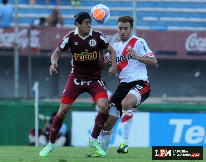 River vs. Universitario (Montevideo - Enero 2015) 6