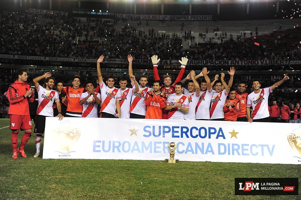 River vs Sevilla (Supercopa Euroamericana - Marzo 2015) 16