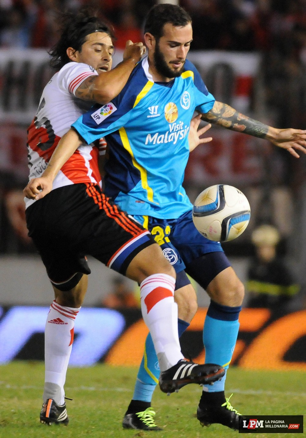 River vs Sevilla (Supercopa Euroamericana - Marzo 2015) 49