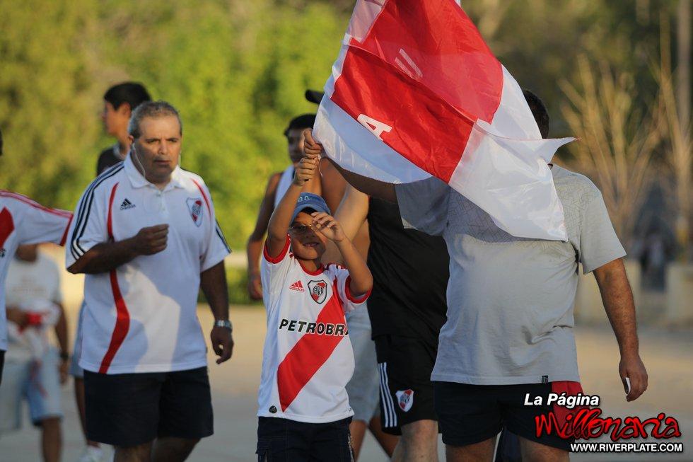 La previa de River Plate vs. Boca Juniors (Mendoza 2011) 2