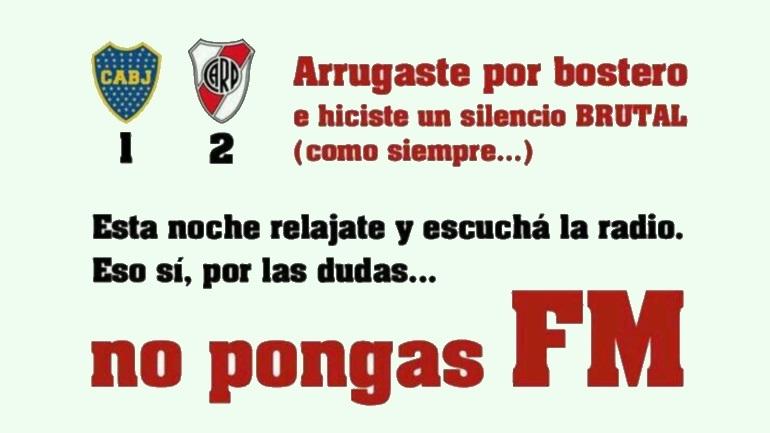 Afiches Superclásico 2014 - Boca 1-2 River 14