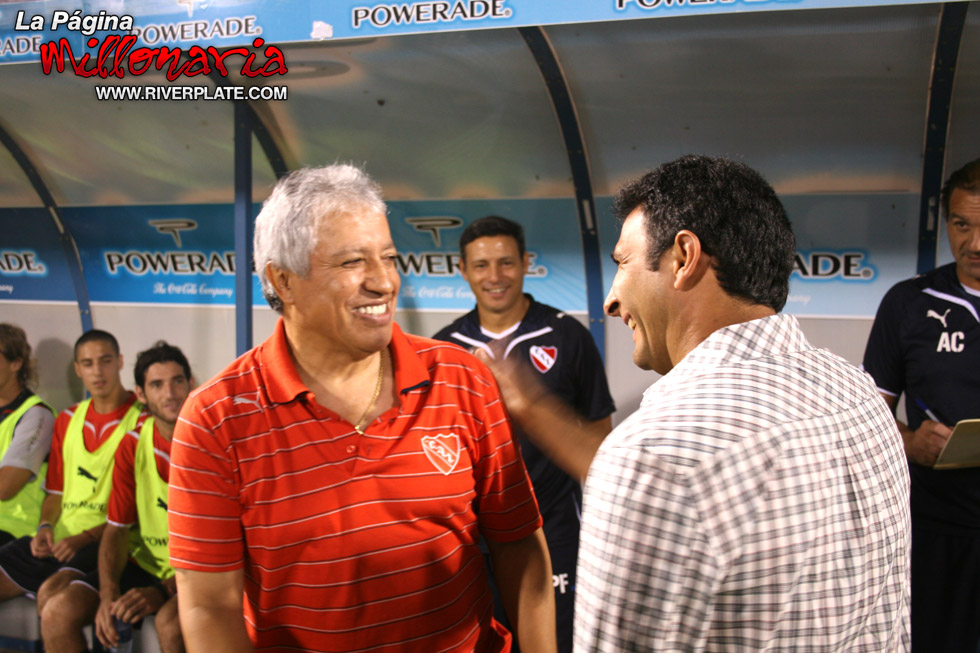 River vs Independiente (Salta, Triangular 2010) 7