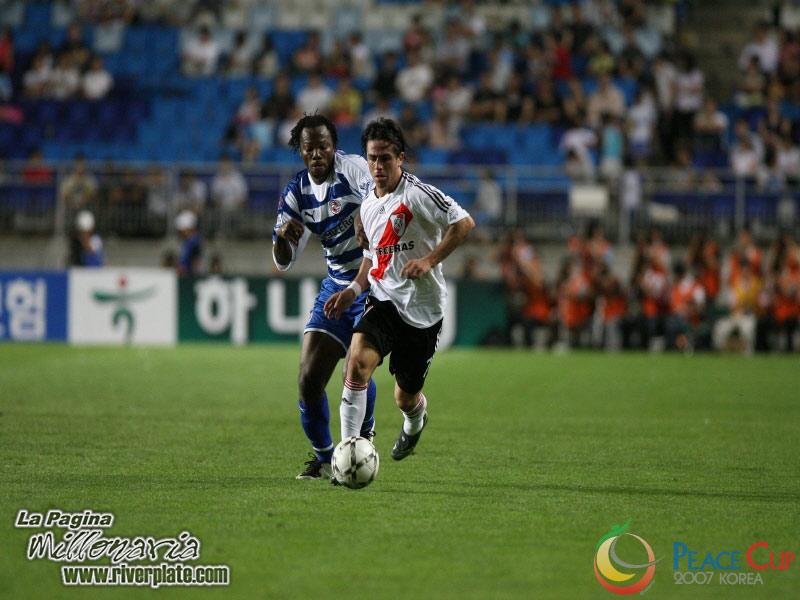 Korea Peace Cup - River Plate vs Reading FC 5
