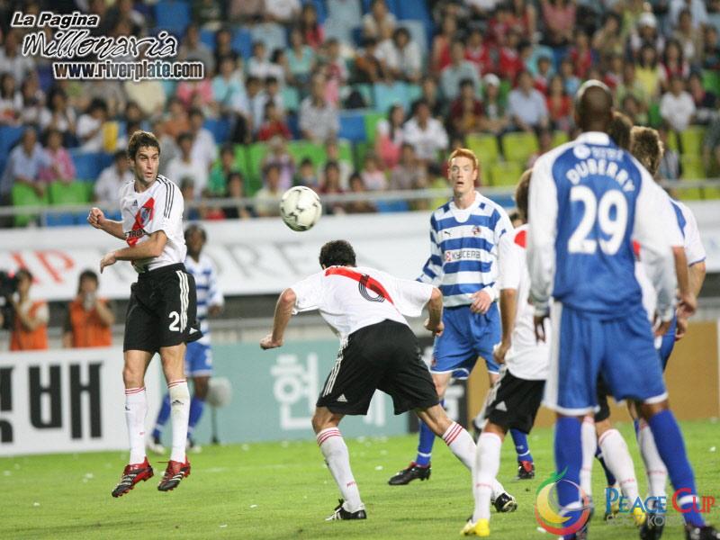 Korea Peace Cup - River Plate vs Reading FC 2