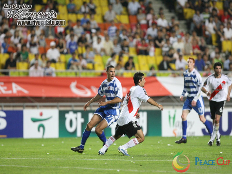 Korea Peace Cup - River Plate vs Reading FC