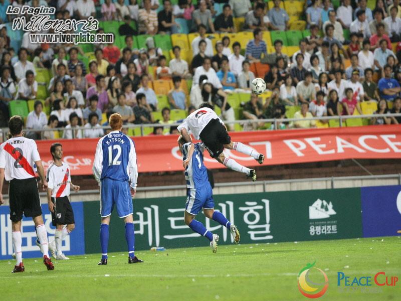 Korea Peace Cup - River Plate vs Reading FC 8