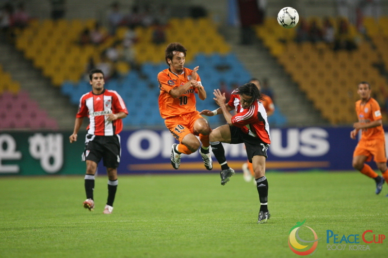 Korea Peace Cup - River Plate vs Shimizu S-Pulse 1
