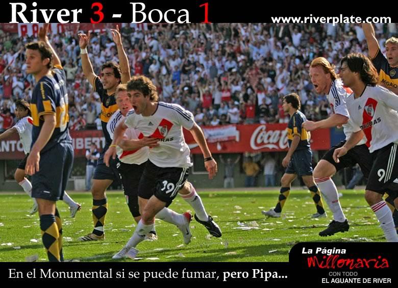 Fumate esta pipa - River 3 - Boca 1 -Ap 06