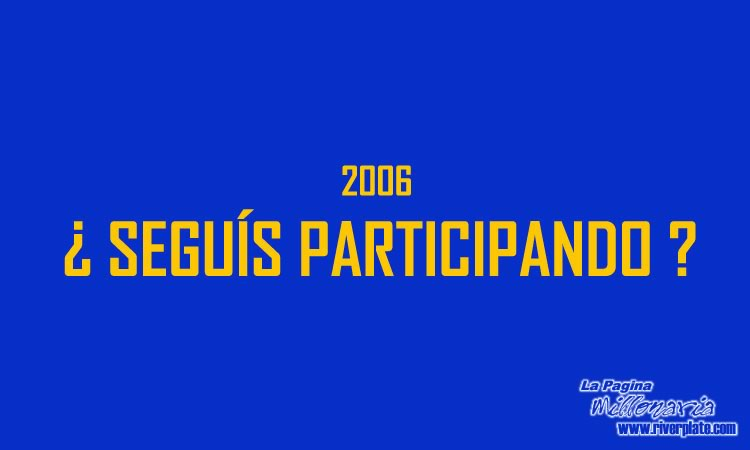 2005 - Chau Boca - Copa Libertadores 2