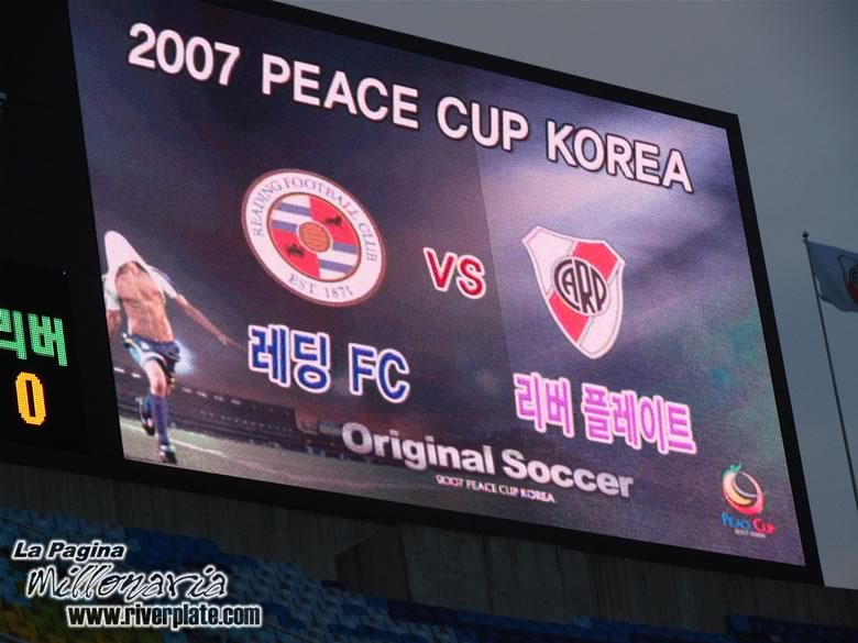 Korea Peace Cup - River Plate vs Reading FC 13